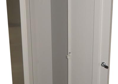 Метален шкаф за дрехи (единичен)-2