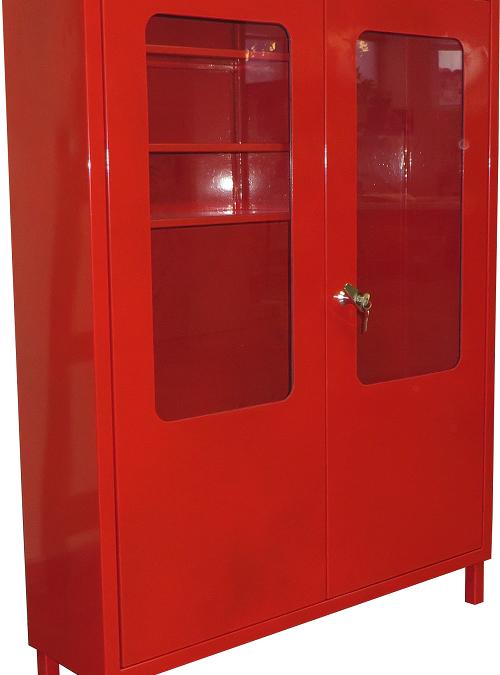 Пожарен шкаф стоящ