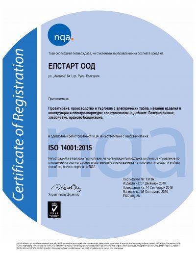 NQA Certificate ISO 14001-2015_BG_ELSTART LTD