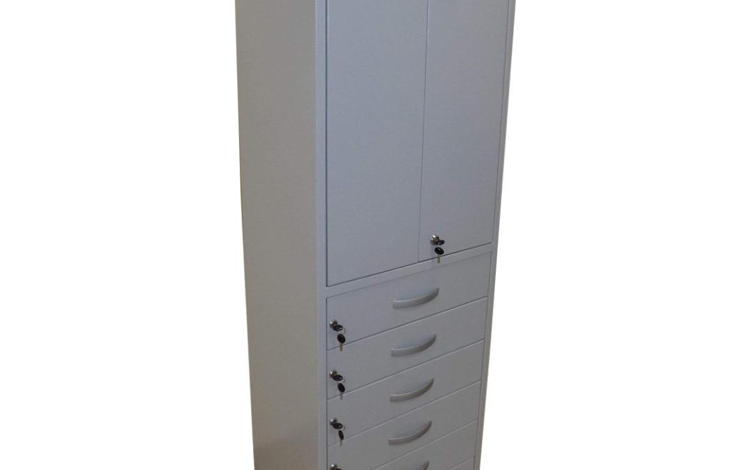 Шкаф за инструменти със шест отделения